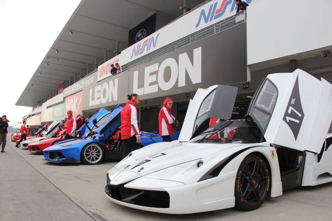 フェラーリ・レーシング・デイズに登場したフェラーリFXX KとフェラーリFXX