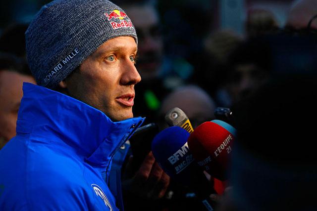ドライバーが身の危険を感じた際、競技のボイコットも辞さないと語ったセバスチャン・オジエ(フォルクスワーゲン・ポロR WRC)