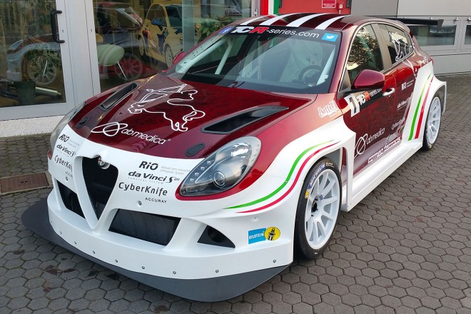ロメオ・フェラーリ製のアルファロメオ・ジュリエッタTCR