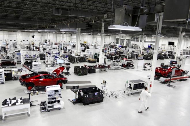 新型NSXが量産される『パフォーマンス・マニュファクチュアリング・センター(PMC)』