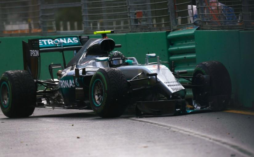 2016年F1開幕戦オーストラリアGP フリー走行2回目 ニコ・ロズベルグ