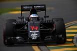 開幕戦オーストラリアGP予選Q1を3位で通過したアロンソ