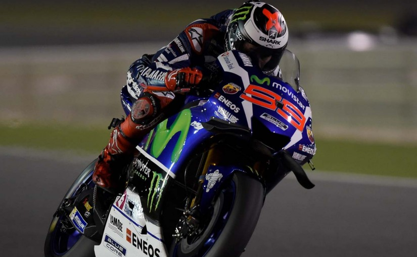 MotoGP第1戦カタールGP ホルヘ・ロレンソ(ヤマハ)