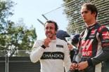 2016年F1開幕戦オーストラリアGP 決勝 フェルナンド・アロンソ、エステバン・グティエレス