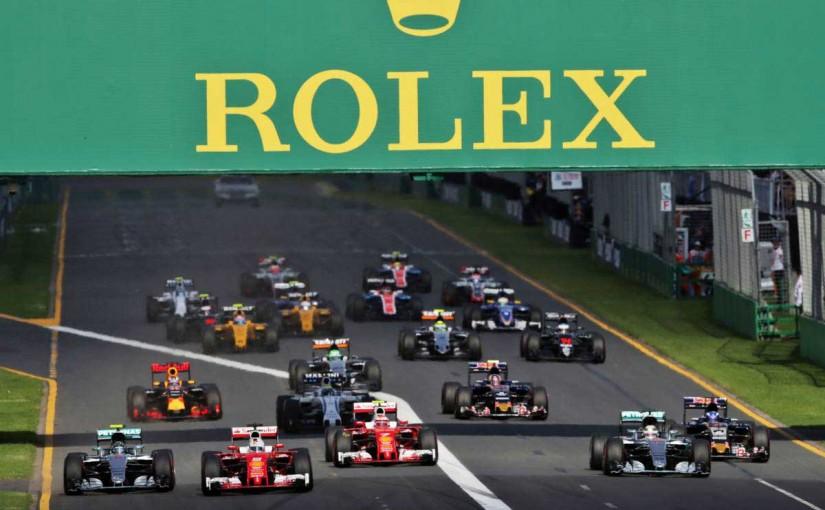 2016年F1開幕戦オーストラリアGP 決勝レーススタート