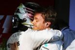 2016年第1戦オーストラリアGP ルイス・ハミルトンとニコ・ロズベルグ(メルセデス)