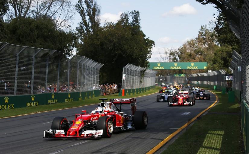 フェラーリは赤旗中断後、2台ともスーパーソフトタイヤを選択