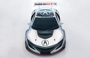 ニューヨークショーで公開されたアキュラNSX GT3
