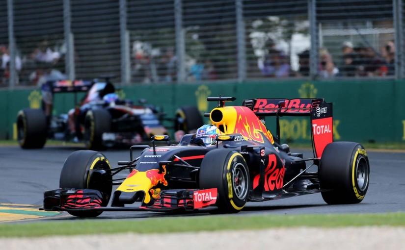2016年F1開幕戦オーストラリアGP 決勝4位となったダニエル・リカルド