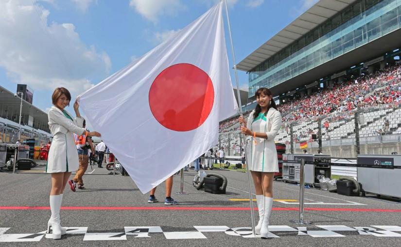 2015F1日本GP グリッドの様子