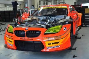 スーパーGT富士公式テスト搬入日のARTA BMW M6 GT3