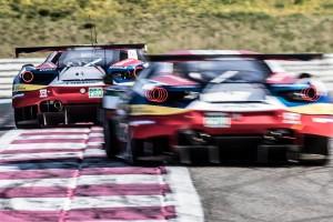 2016年3月26日 FIA WECプロローグ AFコルセのフェラーリ488 GTE