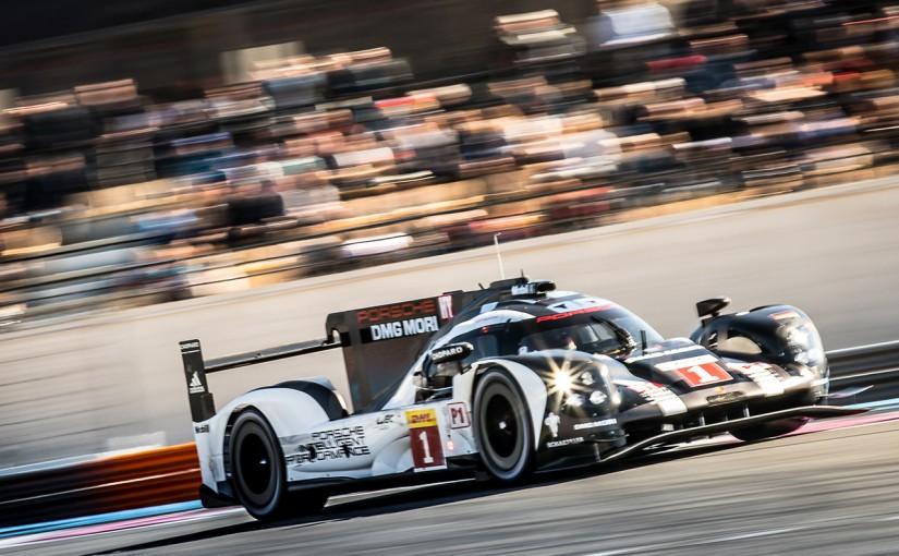 2016年3月26日 FIA WECプロローグ ポルシェ919ハイブリッド1号車