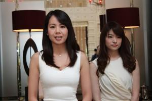 88号車マネパ ランボルギーニ GT3のレースクイーンを務める會田ミナさん