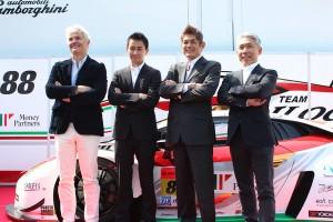 織戸学&平峰一貴 88号車マネパ ランボルギーニ GT3(JLOC)