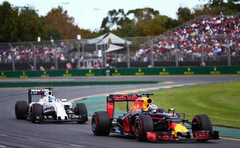 2016年F1開幕戦オーストラリアGP ダニエル・リカルド 決勝レース