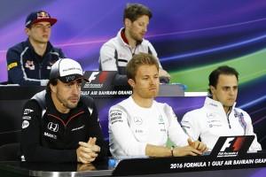F1第2戦バーレーンGP 木曜会見
