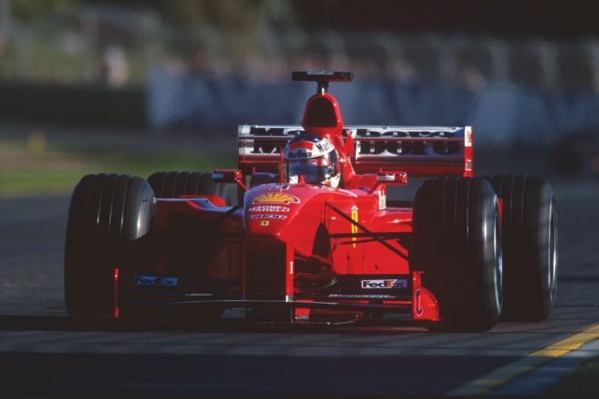 1999年、フェラーリF399を駆るミハエル・シューマッハー