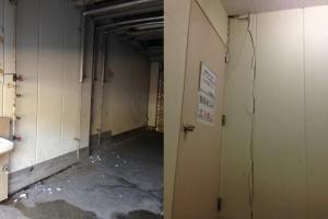 パドックビルおよびピットの外壁、内壁のヒビ、脱落