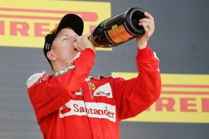 2016年F1第4戦ロシアGP キミ・ライコネン 決勝3位