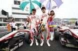 全日本F3第5戦岡山 ワン・ツーフィニッシュを飾ったトムスの山下健太(ZENT TOM'S F312)と坪井翔(ZENT TOM'S F314)