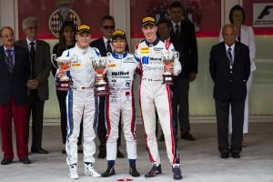 2016年GP2第2戦モナコ決勝レース2、松下信治(ART)が優勝