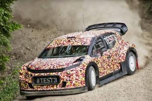 """来季WRCに登場する新型WRカー。エンジン出力と空力面の改善により、""""史上最速のWRカー""""とも呼ばれる"""