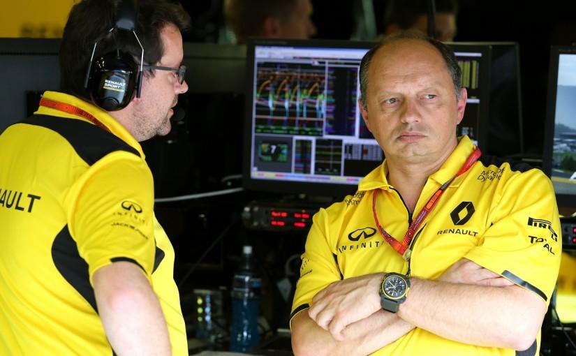 ルノーF1チーム代表フレデリック・バスール