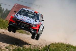 WRC第7戦ポーランド ダニ・ソルド(ヒュンダイi20 WRC)