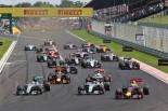 F1第11戦ハンガリーGP決勝レーススタート