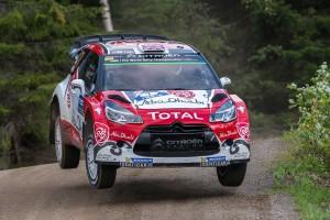 WRC第8戦フィンランド クリス・ミーク(シトロエンDS3 WRC)