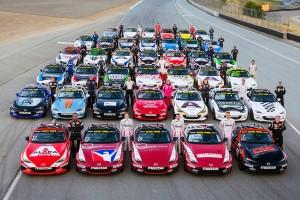 2016年アメリカでのレースに集結した参加者たち