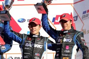 スーパーGTでも第5戦富士で表彰台を獲得した。