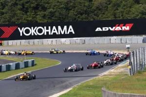 全日本F3選手権第14戦 オープニングラップ