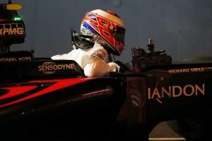 2016年第15戦シンガポールGP予選 ジェンソン・バトン(マクラーレン・ホンダ)