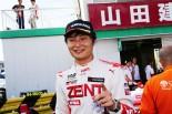チャンピオンを獲得した山下健太(ZENT TOM'S F312)