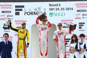 全日本F3選手権第16戦 表彰式