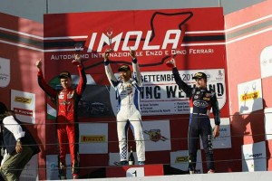 イタリアFIA-F4イモラでシリーズ初優勝を飾った佐藤万璃音(ヴィンチェンツォ・ソスピリ・レーシング)