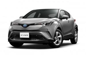 トヨタの新型SUV、C-HR日本仕様の概要が発表された