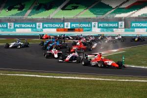 2016年GP3第8戦マレーシア 福住仁嶺(ART)は2位表彰台を獲得