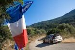 WRC第10戦ツール・ド・コルス セバスチャン・オジエ(フォルクスワーゲン・ポロR WRC)