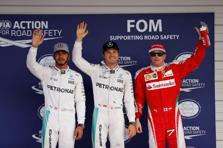 2016年F1第17戦日本GP 予選トップ3