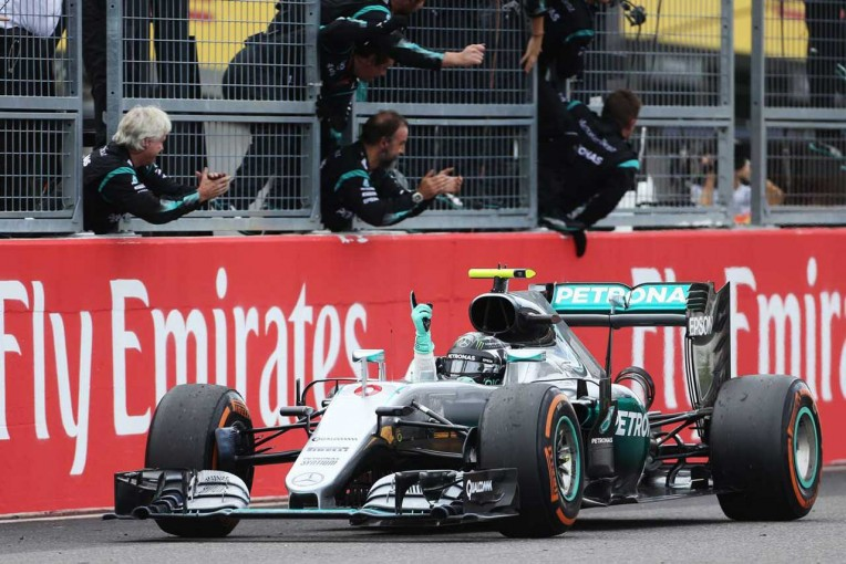 2016年F1第17戦日本GP ニコ・ロズベルグ(メルセデス)