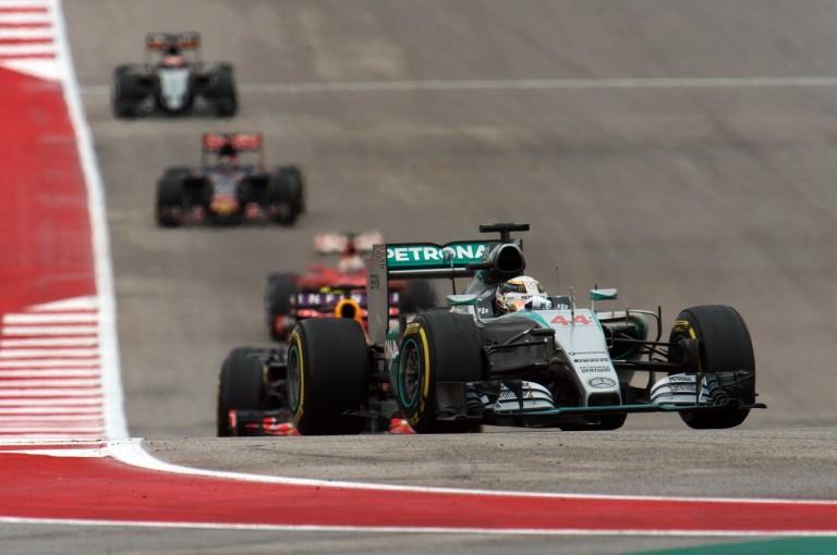 F1アメリカGPでトップ3が異なる...