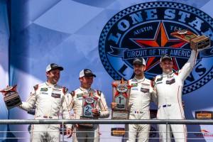 今季はWECやIMSAで911RSRをドライブするニック・タンディ(左)とアール・バンバー(右)