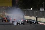 2016年第19戦メキシコGP ルイス・ハミルトン(メルセデス)がロックアップ