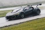 北米のシリーズに来季4台が投入される予定のNSX GT3