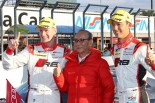 悲願の今季初優勝を飾ったHitotsuyama Audi R8 LMS