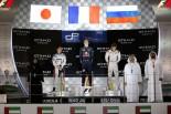 GP2第11戦アブダビ決勝レース1 表彰式