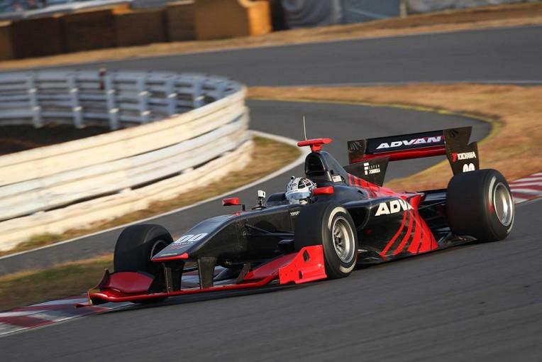 小林可夢偉はアドバンカラーのSF14・トヨタでタイムアタックに臨んだ。